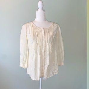 Anthropologie Meadow Rue Peasant blouse #3300